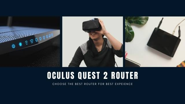 oculus quest 2 router and headset